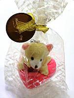 Сувенир Мишка на подвеске с полотенцем