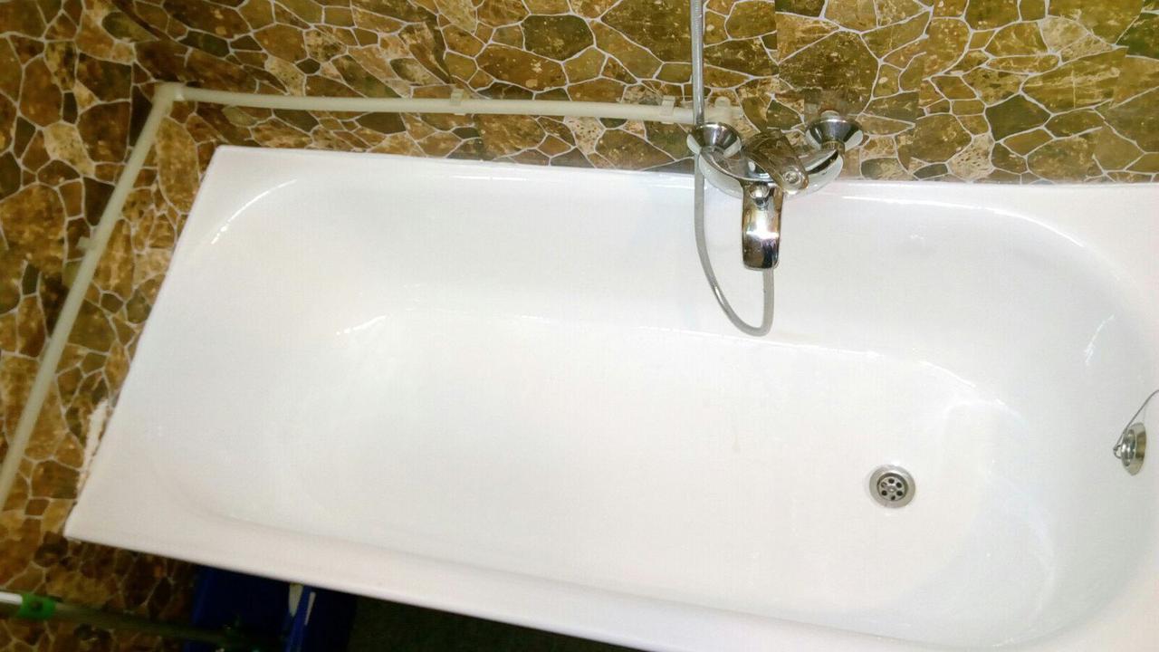 Реставрация ванн жидким акрилом в Николаеве