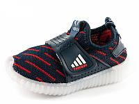 Кроссовки для мальчика светящиеся JongGolf 1400024