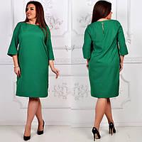 Платье, модель 791 батал, цвет - зеленый