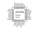 Микросхема Realtek ALC5633 AUDIO codec аудиокодек, фото 5