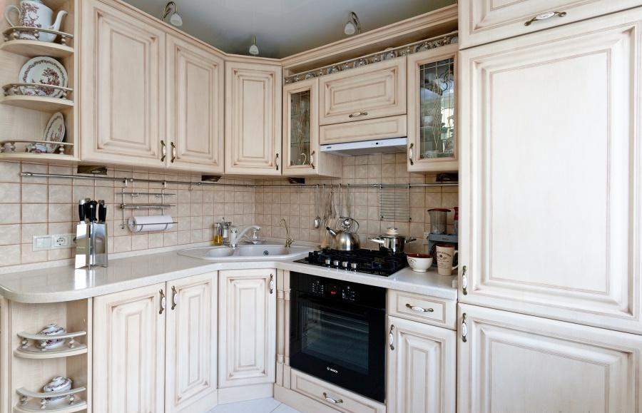 Кухня с пленочными фасадами Киев