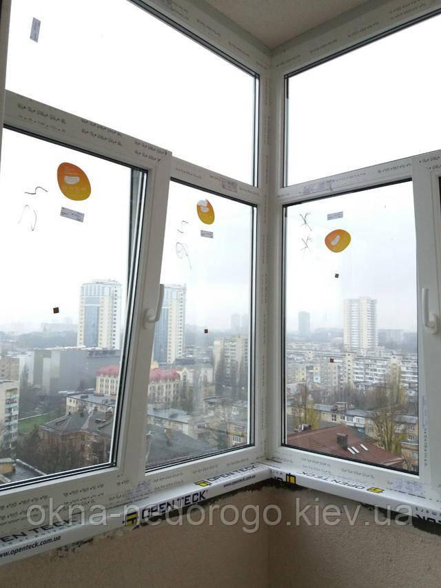 Заказать окна по программе Iq energy на балкон