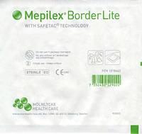 Mepilex Border Lite самоклеющаяся сорбционная повязка стерильная 15 х 15 см