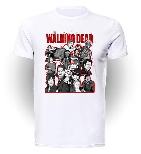 Футболка Geek Land Ходячие Мертвецы The Walking Dead character collage WD.001.45