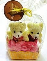 Сувенир Мишки на подвеске с полотенцами