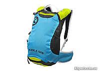 Рюкзак KLS Limit (об`єм 6 л) синій/зелений