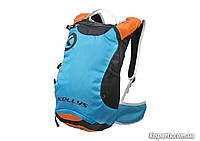 Рюкзак KLS Limit (об`єм 6 л) синій/помаранчевий