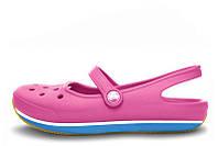 Шлепки кроксы женские Crocs Flats Pink W