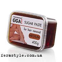 Сахарная паста для шугаринга 400г (MEDIUM) Средняя жесткость