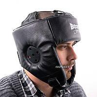 Шлем боксёрский кожаный Boxer L (bx-0067)