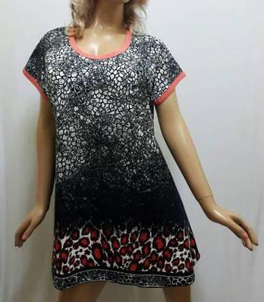 Туника, домашнее платье, размеры 48,50,52, фото 2