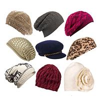 Женские шапки,береты, хомуты