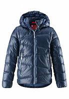 Куртка-жилетка пуховая для мальчиков 2 в 1 Reima MARTTI 531291-6980. Размеры 104, 116-140. , фото 1