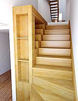 Изготовление лестниц из дерева на заказ, фото 3