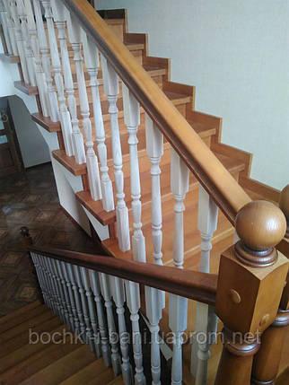 Лестница на заказ (ясень), фото 2