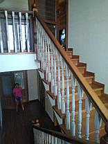 Лестница на заказ (ясень), фото 3