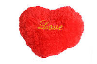 Мягкая подушка в форме сердца