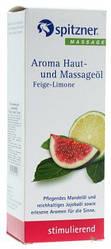"""Масажне масло для ароматерапії """"Інжир і Лайм"""" Spitzner Massage"""