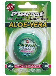 "Зубная нить Pierrot Dental Floss Aloe Vera ""Алоэ вера"" 50 м, Ref. 41"