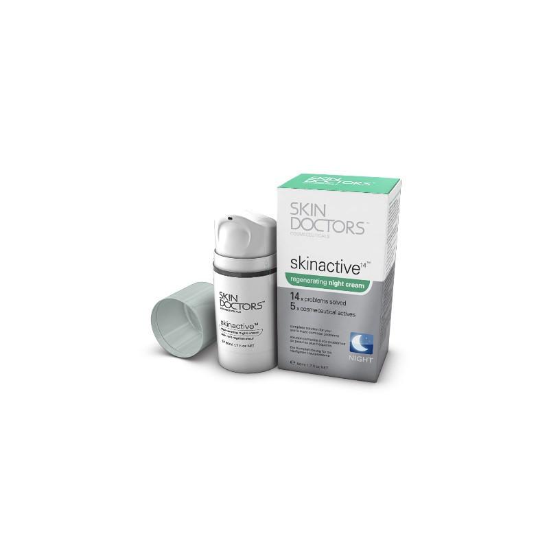Skin Doctors Skinactive 14 -  Ночной крем для регенерации кожи лица 50 мл