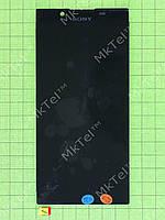 Дисплей Sony Xperia L1 Dual (G3312) с сенсором Оригинал элем. Черный