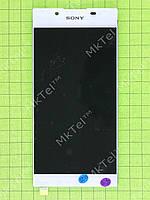 Дисплей Sony Xperia L1 Dual (G3312) с сенсором Оригинал элем. Белый