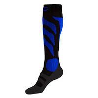 Шкарпетки чоловічі P.A.C. Ski Race Pro чорний/синій 40-43