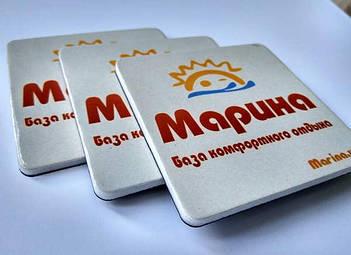 Мягкие рекламные магниты на холодильник. Размер 63х63 мм 94