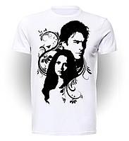 Футболка GeekLand Дневники Вампира The Vampire Diaries Damon&Elena VD.01.003