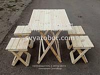 Стол раскладной + стул раскладной для торговли или пикника