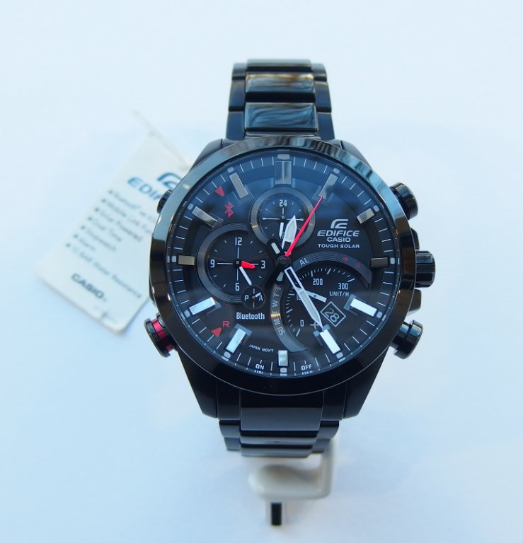 Часы Casio Edifice EQB-500DC-1A Bluetooth A.