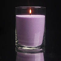 Сиреневые насыпные свечи 1 кг + 1 м фитиля, фото 1