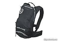 Рюкзак KLS Limit (об`єм 6 л) чорний/сірий
