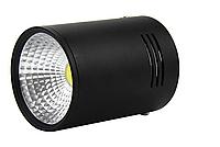 Точечный накладной светильник 30Вт 6500К черный, SN30CWRX BL, фото 1