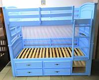 """Двухъярусная кровать """"Шотландец"""" (трансформер)"""