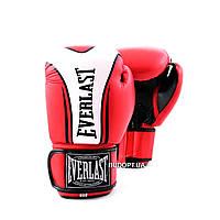 Перчатки боксерские PU Everlast BO-0225 FIGHT-STAR (10, 12 унций)