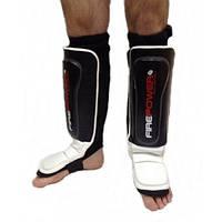 Защита ног голени и стопы Кожа FirePower FPSG4 MMA PRO