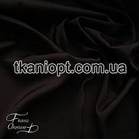 Ткань Шифон шелк креп (черный)