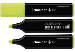 Маркер текстовый Schneider JOB желтый S1505