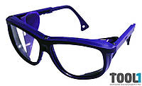 Очки защитные «комфорт», с регулируемыми дужками MASTERTOOL 82-0601
