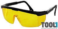 Очки защитные, с регулируемыми дужками MASTERTOOL 82-0603