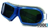 Очки защитные обшитые MASTERTOOL 82-0604