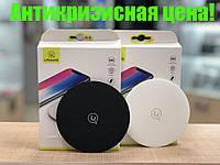 Беспроводное зарядное устройство Usams Wireless Fast Charging 10W Pad US-CD24 Black, фото 1