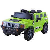 Эл-мобиль FL1658 GREEN джип на Bluetooth 2.4G Р/У 2*6V4.5AH мотор 2*20W с MP3 98*62.9*49.3 ш.к. /1/