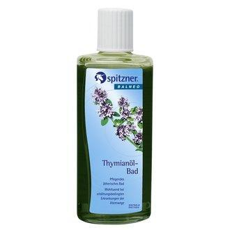 "Жидкий концентрат для ванн ""Тимьян"" Spitzner Arzneimittel, 190 ml."