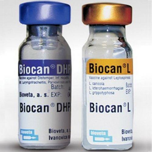 БИОКАН BIOCAN DHPPI+L вакцина для собак (чума, гепатит, парвовироз, парагрипп, лептоспироз), 1 доза