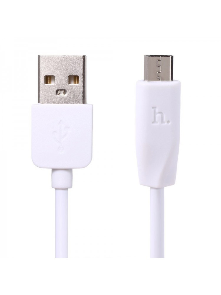 Кабель HOCO X1 Rapid Charging Type-C USB Cable (1m) White