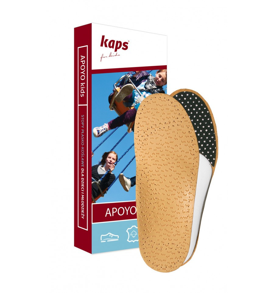 Kaps Apoyo Kids - Ортопедичні устілки для дітей