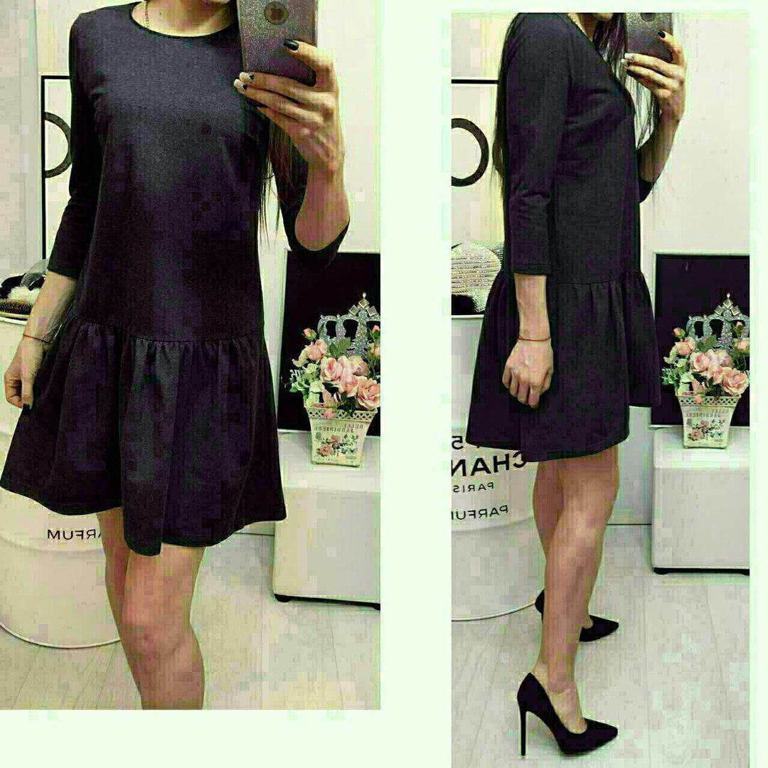 Платье, модель 778, цвет - черный